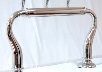 3tap chrome with large base - customer side