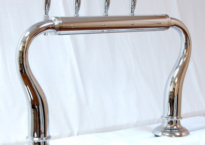 4tap chrome with large base - customer side